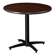 "Round Break Room Table with Arched Base - 30"", KFI-T30RD-B2115T"
