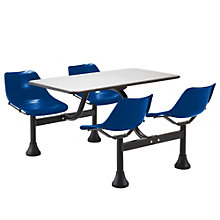 "65"" W x 48"" D Cluster Lunchroom Table with Chairs, OFM-1004"