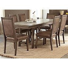 7 Pc Trestle Table Set , 8810330