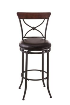 Surprising Swivel X Back Counter Stool Creativecarmelina Interior Chair Design Creativecarmelinacom