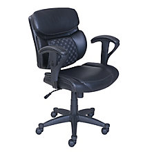 Bonded Leather Computer Chair, 8825965