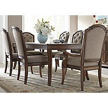 7 Pc Rectangular Table Set , 8810708