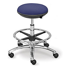 Memory Foam Fabric Mid Range Stool with Foot Ring, 8801853