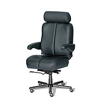 Big and Tall Office Chair in Fabric or Faux Leather, 8810172