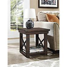 Wood Veneer End Table, 8822192