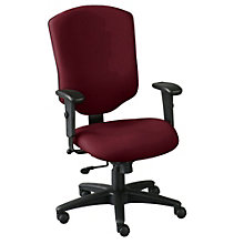 High Back Fabric Ergonomic Computer Chair, OFF-41572