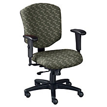 Mid Back Fabric Ergonomic Computer Chair, OFF-41573