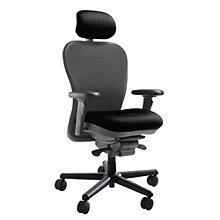 Heavy Duty Mesh Back Ergonomic Executive Chair with Headrest, NGL-6200DHD