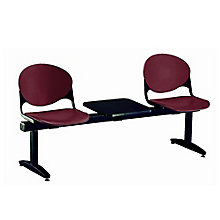 Two-Seat Beam Bench with Center Table, 8813420