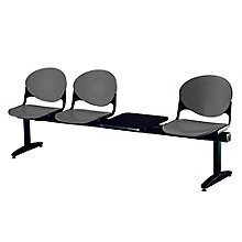Three-Seat Beam Bench with Side Table, 8813421