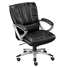 Valor Mid Back Leather Executive Chair, NBF-DHL6711