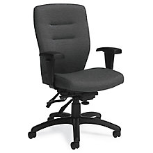 Synopsis Fabric Medium Back Ergonomic Task Chair, 8814299
