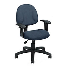 Tweed Fabric Task Chair with Arms, 8803547