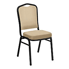 Armless Stacking Fabric Banquet Chair , 8822443