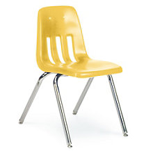 "Plastic Stack Chair - 16""H Seat, VIR-9016"