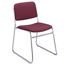 Fabric Stack Chair with Sled Base, KFI-310