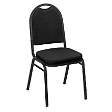 "Round Back Fabric Stack Chair with 2"" Seat, 8822479"