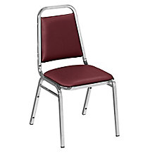 Square Back Stack Chair in Vinyl, 8822653
