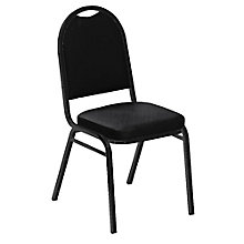 "Round Back Vinyl Stack Chair with 2"" Seat, 8822652"