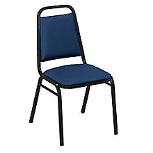 Square Back Stack Chair in Fabric, 8822465