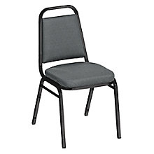 "Square Back Fabric Stack Chair with 2"" Seat, 8822461"