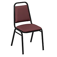 Square Back Chair in Patterned Fabric, 8822464