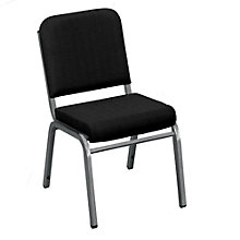 Armless Fabric Stack Chair, 8813866