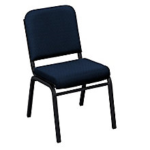 Armless Vinyl Stack Chair, 8813867