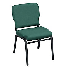Armless Vinyl Wing Stack Chair, 8813868