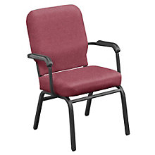 Vinyl Stack Chair - 500 lb Weight Capacity  , 8822654