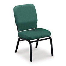 Armless Vinyl Ganging Stack Chair - 500 lb Weight Capacity , 8822442