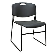 Armless Plastic Stack Chair, 8827609