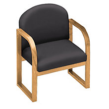 Sled Base Conference Chair with Arms, 8828378