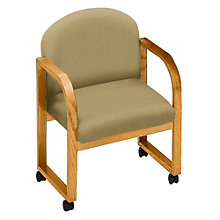Round Contour Back Conference Chair with Arms, 8813603
