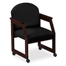 Classic Round Back Guest Chair with Casters, 8813691