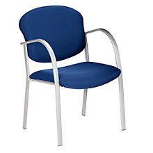 Silver Frame Guest Chair, OFM-414