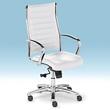 Europa High Back Computer Chair in Bonded Leather, RMT-10608