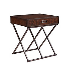 "Villa Couture Rocco End Table - 26""W, 8804793"