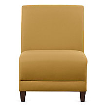 "Fabric Armless Guest Chair - 21""W, 8814240"