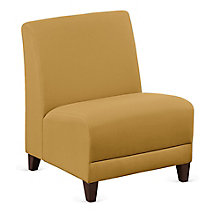 """Fabric Armless Oversized Guest Chair - 25""""W, 8814244"""