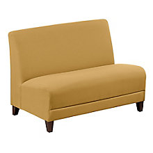"Fabric Armless Loveseat - 44""W, 8814247"