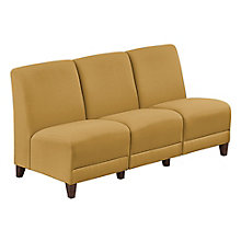 "Armless Sofa in Fabric - 64.5""W, 8814249"