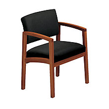Tamiri Leather and Vinyl Mid Back Ergonomic Chair, 8813749