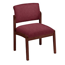 Lenox Armless Guest Chair in Designer Upholstery, 8825873