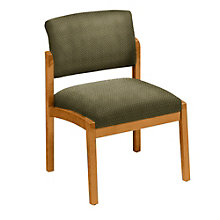 Armless Guest Chair in Designer Upholstery, 8802857