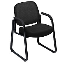 Plush Sled Base Guest Chair, OFM-403
