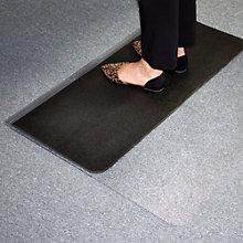 Sit or Stand Chair Mat 3.75'W x 4.5'D, 8804503