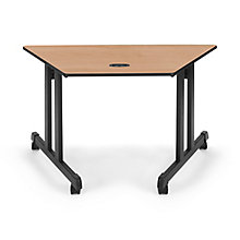 "Trapezoid Table 48""x24"", 8811629"