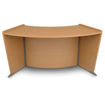 Marque Ada Reception Desk Add On By Ofm Officefurniture Com
