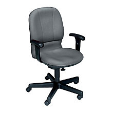 Fabric Task Chair with Arms, OFM-640